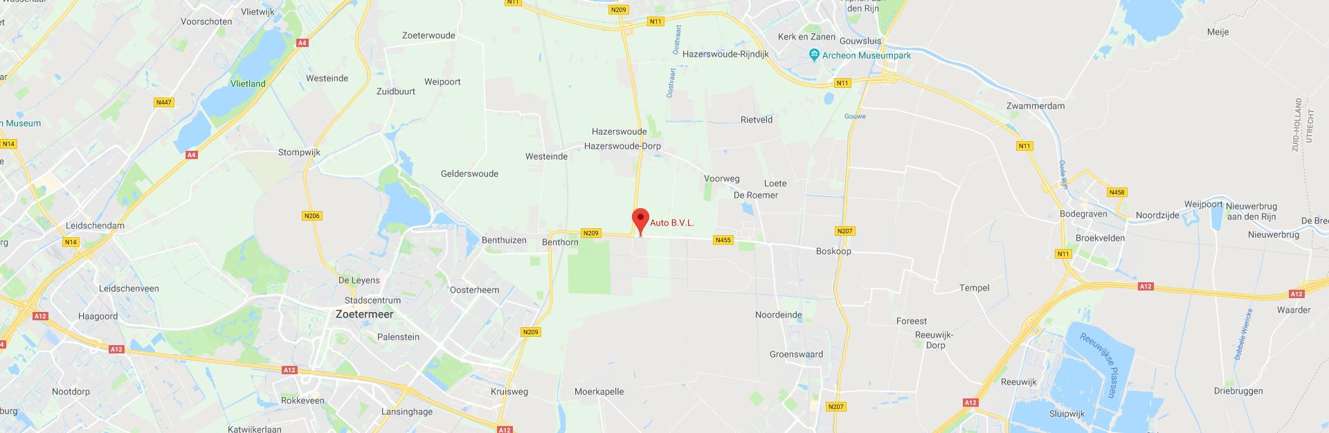 autobvl op google maps